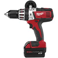 Milwaukee 2611-24 18-Volt Hammer Drill Kit Basic Facts