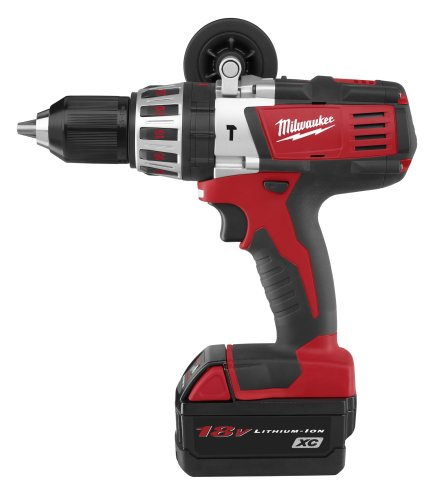 V18 Lithium Ion Hammer Drill (Milwaukee 2611-24 18-Volt Hammer Drill Kit)