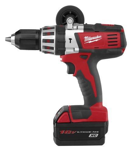 Milwaukee 2611-24 18-Volt Hammer Drill Kit ()