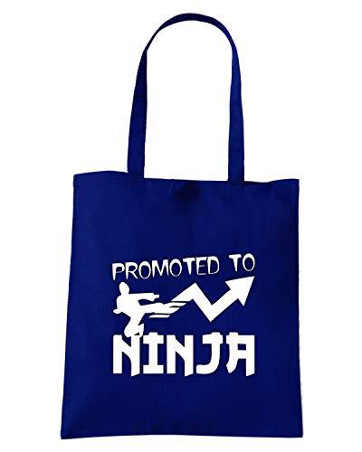 TBOXE0058 Navy GUY Borsa Blu Shopper Shirt TO KICKING Speed WITH NINJA PROMOTED RqAIwXgWWx