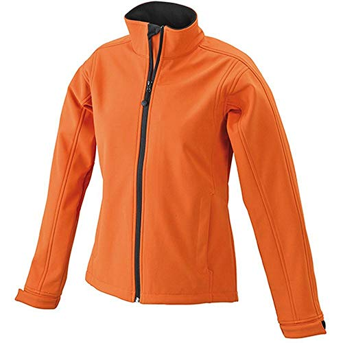 Para Softshell Chaqueta And Mujer Naranja Impermeable Nicholson James Pop FqZBwzW