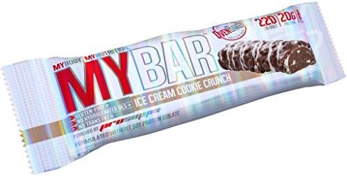 prosupps mybar proteína cerrojo proteína Bar Proteínas – Proteína mucho menos Burned – Low Carb y libre de gluten Mix Caja – 12 x (55g) Fitness ...
