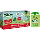 GoGo squeeZ AppleStrawberry Applesauce On The Go, 3.2 oz, 12 count