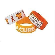 12 Leukemia Awareness Big Band Bracelets Show Your Support