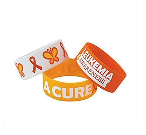 Leukemia Awareness Band Bracelets Support