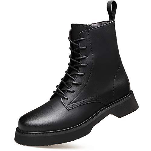 LOVDRAM Männer Schuhe Herbst Und Winter Herren High-Top Herrenschuhe Mode Mode Mode Herren Martin Stiefel Retro Mode Stiefel 6a8786