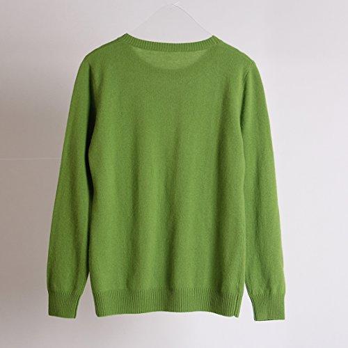 Maglione Verde URSFUR cashmere di URSFUR Maglione di qf8wHt