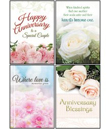 Anniversary Blessings - KJV Scripture Greeting Cards - Boxed - Wedding