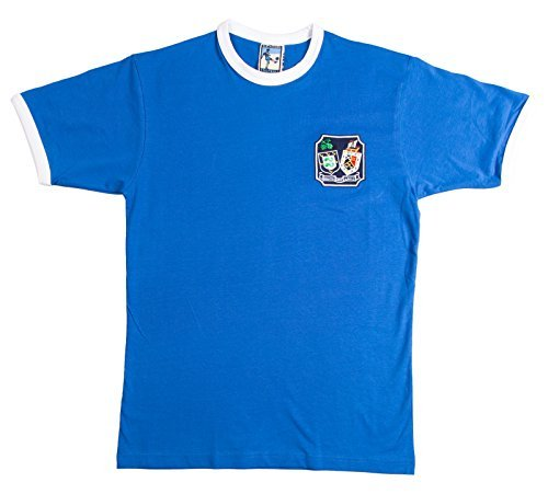 Old School Football Brighton y Hove Abion 1960s Retro Fútbol Camiseta - algodón, Azul, 100% algodón, Hombre, XX-Large: Amazon.es: Ropa y accesorios