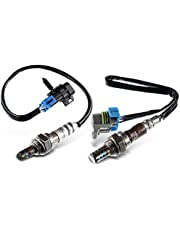 Set of 2 Upstream andDownstream Oxygen Sensor Replacement for Chevrolet Malibu Equinox GMC Terrain Pontiac G6 Saturn Vue Sky(L4 2.4L Engine Only)