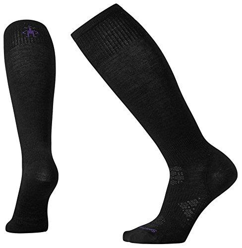 Smartwool Leg Warmer (Smartwool Women's PhD Ski Ultra Light Socks (Black) Medium)