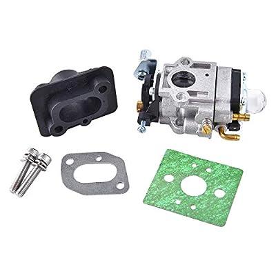 15mm Carburetor Upgrade Kit Air Filter Set Compatible with 2 Stroke 43cc 47cc 49cc Standup Gas Scooter ATV Quad Pocket Bike X-TREME XG-550 BladeZ Moby X Gold: Automotive