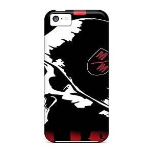 Iphone 5c Khi15616dFRt Unique Design Beautiful Metallica Skin Shock Absorption Hard Cell-phone Cases -AlissaDubois