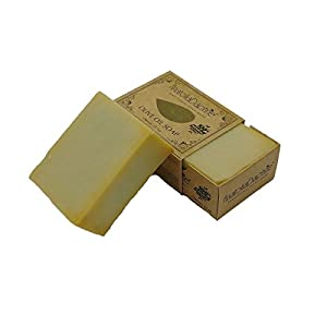 AnatoliaDaphne Traditional Handmade Olive Oil Soap, 100% Natural, Vegan, Organic, All Natural, Best for All Skin Types, Body and Face, Men and Women (Large) 2 Pieces 11.5 oz
