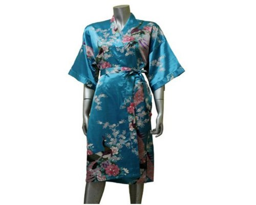 HUDAR THAILAND Bath Robe Peacock 1001 (Coconut Mall-shops)