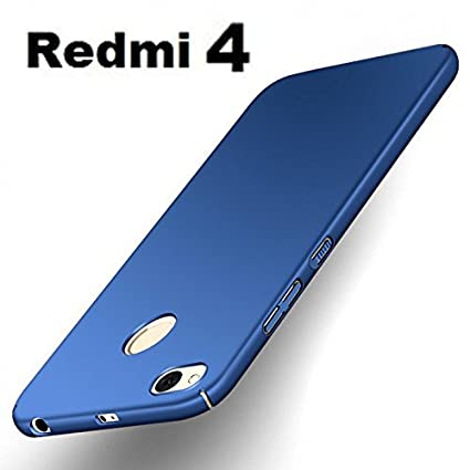 san francisco 01d4b 1b1cc Johra 4 Cut All Sides Protection Sleek Ipaky Blue Hard Case Back Cover for  (Redmi 4 - May 2017 Launch) Redmi 4 Back Cover