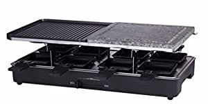 Davis & Waddell D1516 8 Person Electric Party Grill, 46x23cmBK, Black