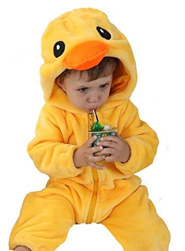 Tonwhar Unisex-Baby Animal Onesie Costume Cartoon Outfit Homewear -