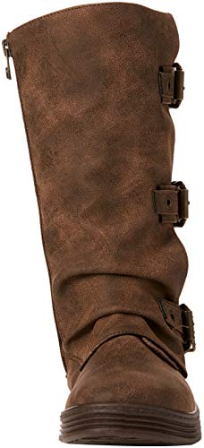 Brown Amazonia 856 Coffee Pu High Blowfish Dali Flynt Women's Boots wIvqRv