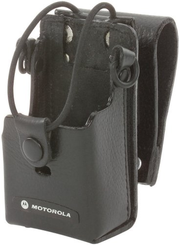 Wireless Clip Leather Solutions (Motorola Leather Case with 3-Inch Swivel for RDX Radios)