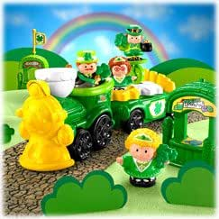 Little People St. Patrick's Day Parade Play Set (White Shipper Box)