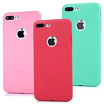 3x Coque Iphone 7 Plus Beaulife Etui Housse Depoli Tpu Gel Silicone