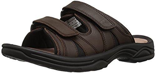Propet Mens Vero Sandal & Oxy Cleaner Bundle Brown adIHHT9K