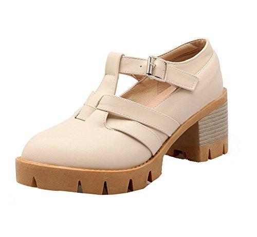 Boucle Unie Agoolar Cuir Femme L Pu Couleur Chaussures wSxTOaR
