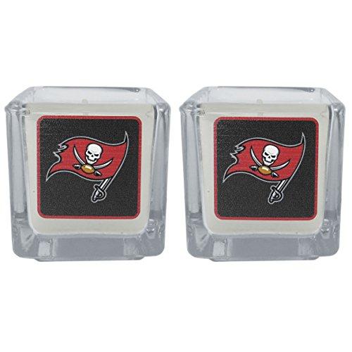 NFL Tampa Bay Buccaneers Graphics Candles, Set of 2