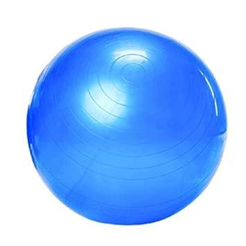 tinxs - Balón suizo (65 cm de diámetro), color azul: Amazon.es ...