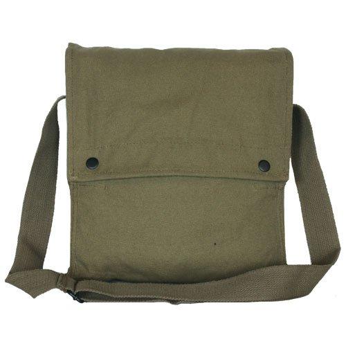 Fox Outdoor Products Satchel Shoulder Bag, Olive - Satchel Canvas