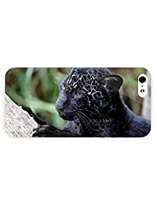 3d Full Wrap Case for iPhone 5/5s Animal Black Panther