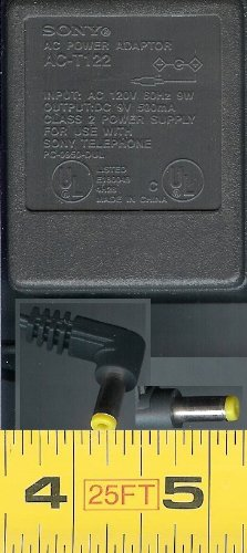 Price comparison product image SONY AC POWER ADAPTOR AC-T122 9 V 500mA