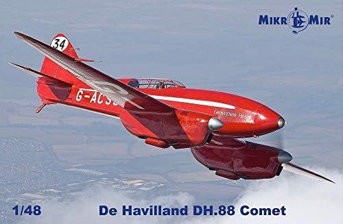 ミクロミル 1/48 デ・ハビランド DH.88 コメット プラモデル MKR48-017