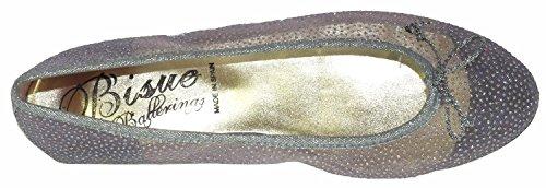 Argento Bisue Ballerine Argento silber galaxy donna silber galaxy 8Xw8B