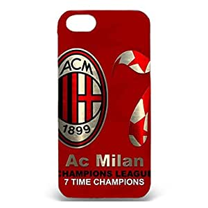 Vintage Design Associazione Calcio Milan Phone Case 3D Protective Case Snap on Iphone 5/5s AC Milan Logo