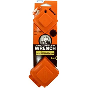 Amazon.com: Camco RhinoFLEX 6-in-1 Sewer Cleanout Plug