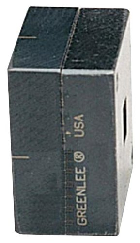 Greenlee 60061 Rectangle Die, 1.378 by 2.559-Inch by Greenlee