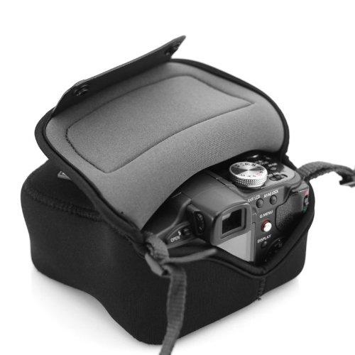 USA GEAR Kameratasche / Kamerahülle für Spiegelreflexkameras von Canon Nikon Sony Pentax Sony Alpha Leica BIS ZUM 12,70 x 12,70 x 7,62 cm