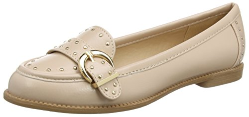 Dorothy Perkins Women's Large Buckle Loafers Pink (Peach) nEvD338r0n