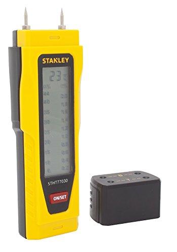 Medidor Humedad, 077030 Moisture Meter Stanley 0-77-030