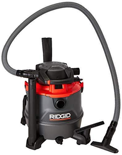 Ridgid RT1600M Aspiradora de Solidos y Líquidos, 6.5 HP, negro con roj