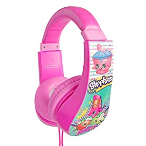 Amazon.com: Shopkins Kid Safe Headphones Headphone, (30333 ...