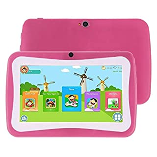 Hunanchenxing 7.0 inch, 1GB+16GB, Android 5.1 RK3126 Quad Core 1.3GHz, TF Card up to 32GB, Dual Camera(Pink) (Color : Green)