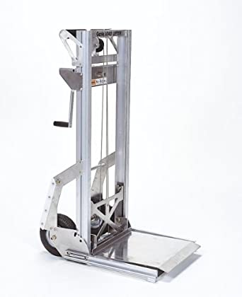 Genie Load Lifter, LL, Portable, Aluminum Manual Lift, 200lbs Load