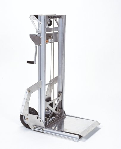 Genie Load Lifter, LL, Portable, Aluminum Manual Lift, 200lbs Load Capacity,  Lift Height 5' 7'