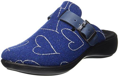 Home Chaussons blau Mules 322 Blau Femme 500 Ibiza Romika Oq5wg