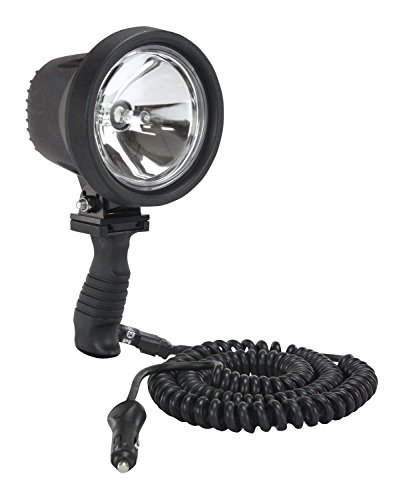 15 Million Candlepower - HID Handheld Spotlight - 16' Cord w/Cigarette Plug(-12V) (Cigarette Plug Spotlight)