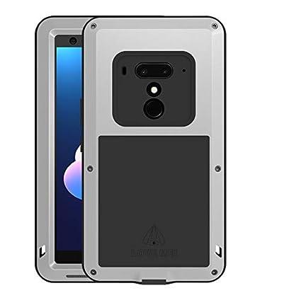 hot sales 2e643 99a39 Amazon.com: HTC U12 Plus Case, Love Mei Full Body Protective ...
