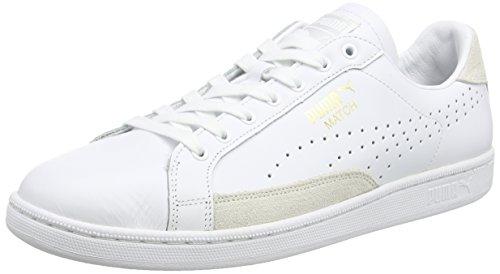10 Puma Gold 74 Wht Wht UPC Bianco Uomo Match 10wht da Sneakers Wht Gold OTOrwqZR